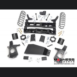 """Chevy Tahoe 2WD Suspension Lift Kit w/ Upper Strut Spacers - 5"""" Lift"""